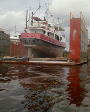 Amazon Hope 2 out of Dry Dock