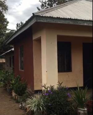 Elly visits one of the homes built in 2015