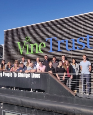 Babcock International Group Supports Vine Trust