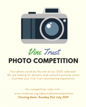 Photo Competition: Vine Trust 2020 Calendar
