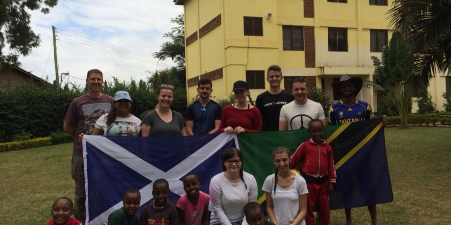 Galashiels Academy Team Blog: Tanzania, June 2018